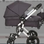 CARRITO BABY ACE 042 CAPOTA ESTENSIBLE base gris set gris